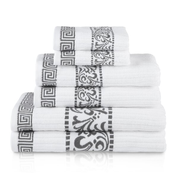 6 Piece 100% Cotton Towel Set by Birch Lane™
